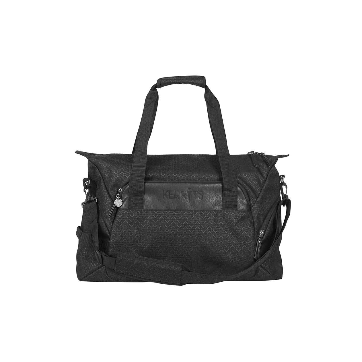 Kerrits Kerrits Duffle Bag, Black Chevron Bits