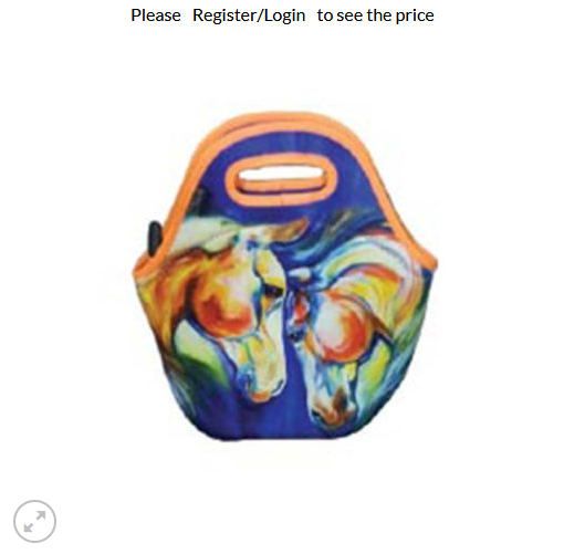 Art of Riding Lunch Tote