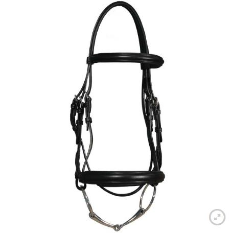 Vespucci Vespucci Classic Dressage Bridle, Horse