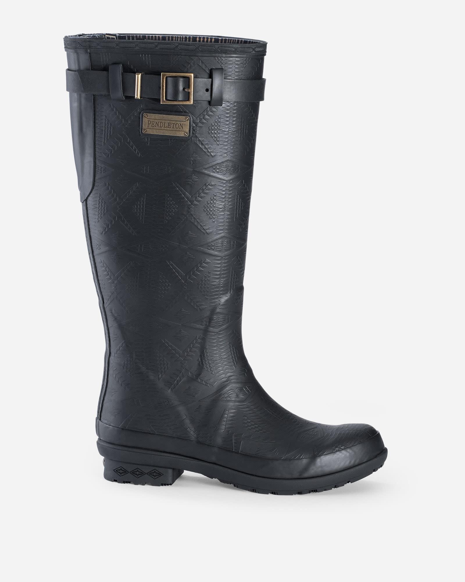 Pendleton Pendleton Heritage Embossed Tall Rain Boots