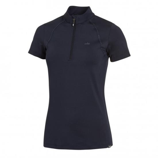 Schockemohle Schockemohle Summer Page Functional Shirt, Dark Blue