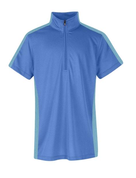 Kerrits Kerrits Kids Cool Ride Ice Fil Short Sleeve Shirt Solid