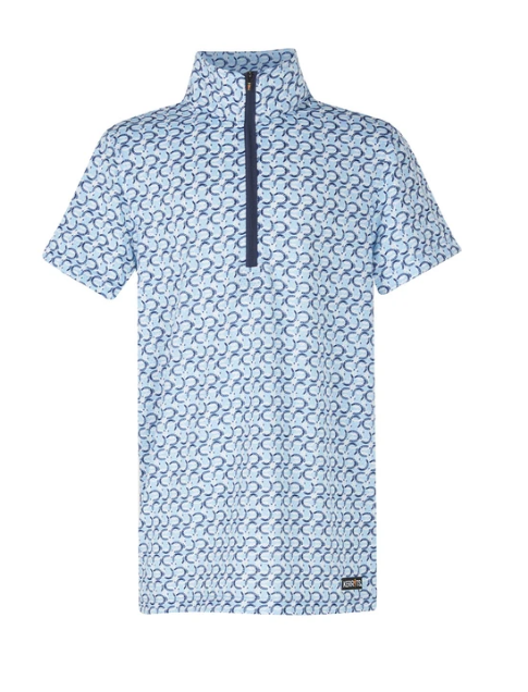 Kerrits Kerrits Kids Cool Ride Ice Fill Short Sleeve Shirt Print