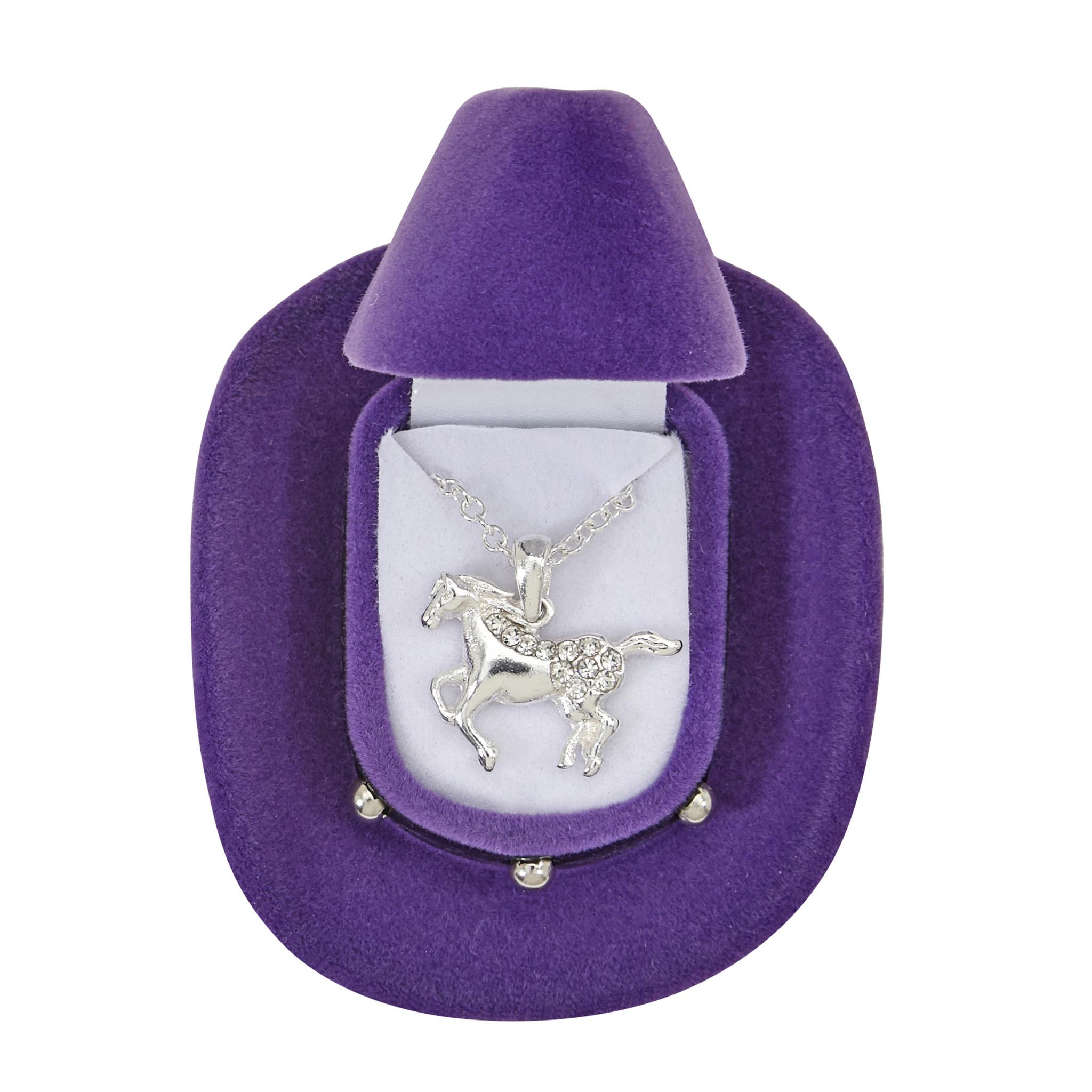AWST AWST Gallopng Horse Necklace