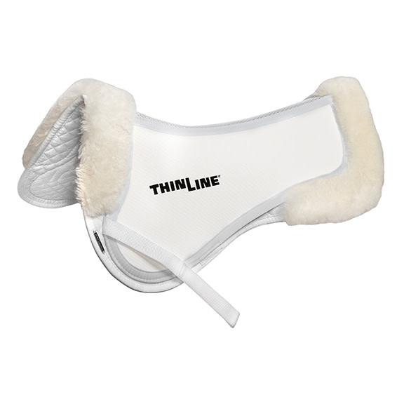 Thin Line Trifecta Half Pad with Sheepskin Rolls