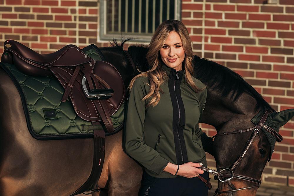 Equestrian Stockholm Equestrian Stockholm Bounded Fleece Jacket