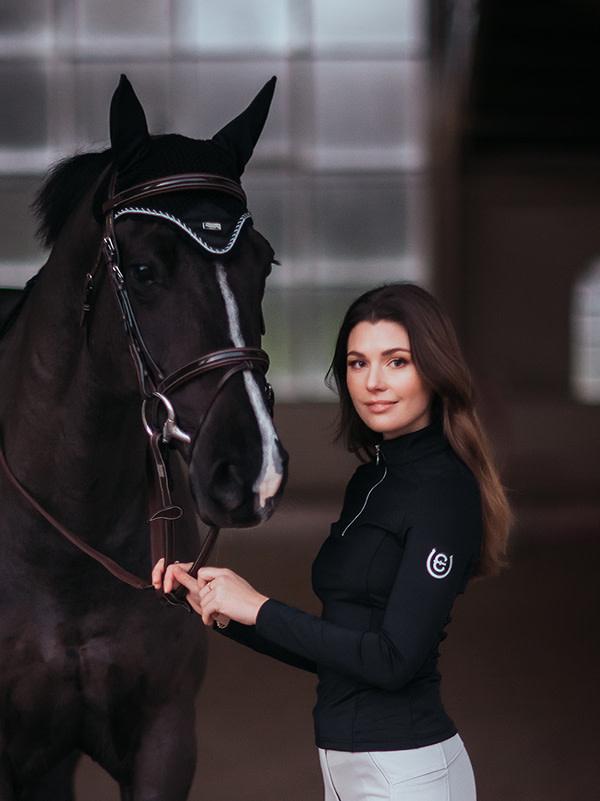 Equestrian Stockholm Equestrian Stockholm Vision Top, Black Edition