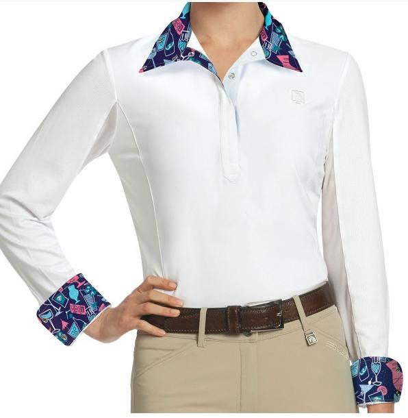 ROMFH Romfh Ladies Lindsay Long Sleeve Show Shirt