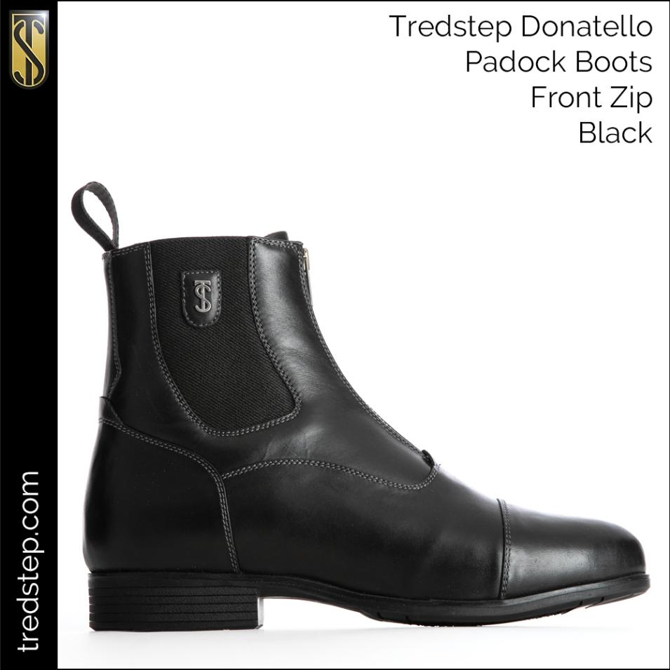 Tredstep Tredstep Donatello Front Zip Paddock Boot