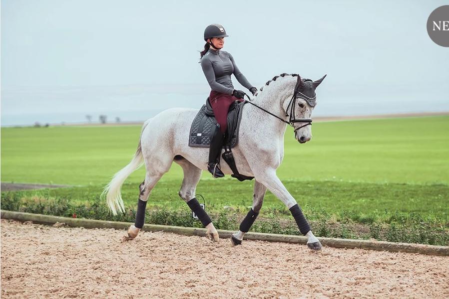 Equestrian Stockholm Equestrian Stockholm  UV Protection Top Silver Cloud