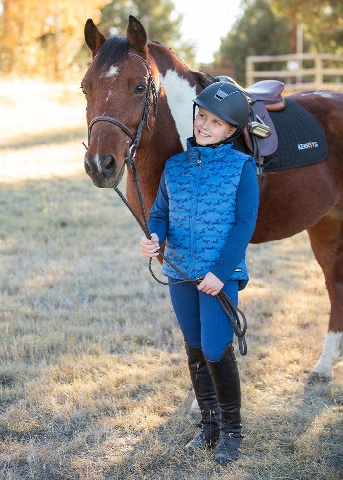 Kerrits Kerrits Kids Horse Crazy Quilted Vest