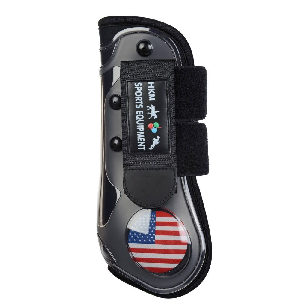 HKM Front Protection Boots - USA, Full