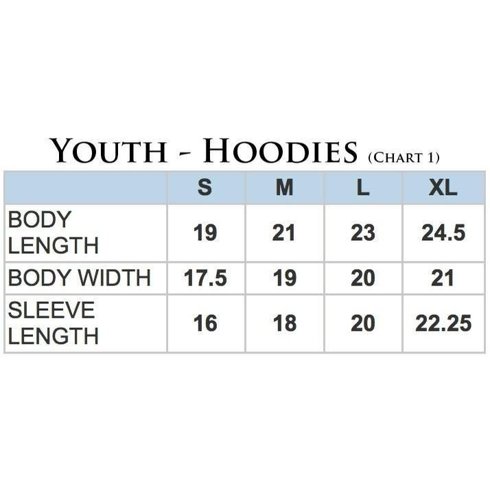 Stirrrups Clothing Company Stirrups, Youth Hunter Jumper Hoodie