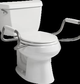 BEMIS Hinged Toilet Seat W/ Arms