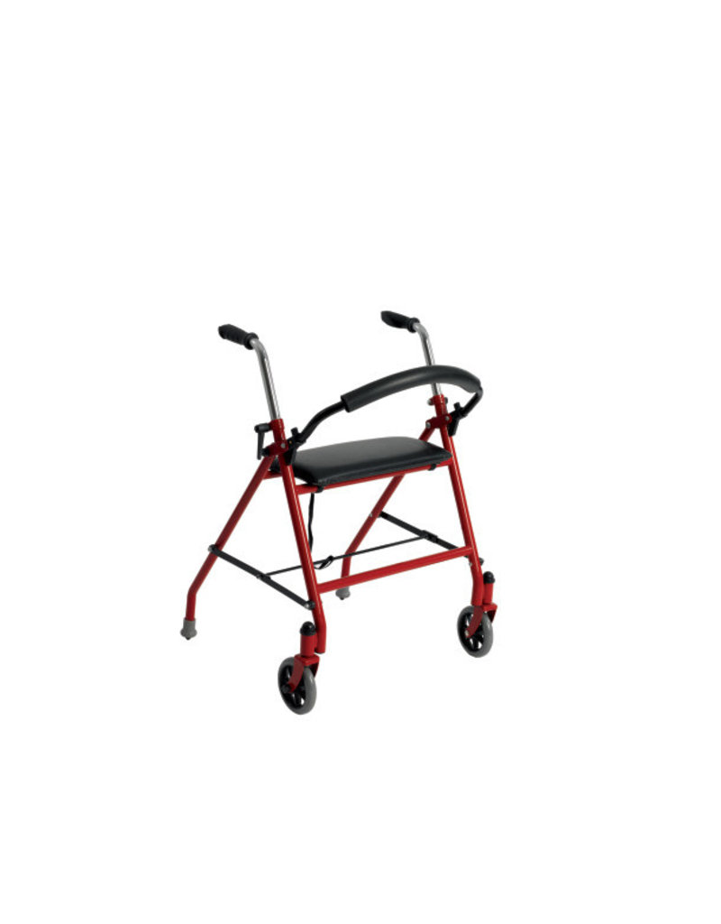 Drive/Devilbiss 2-Wheeled Walker With Seat