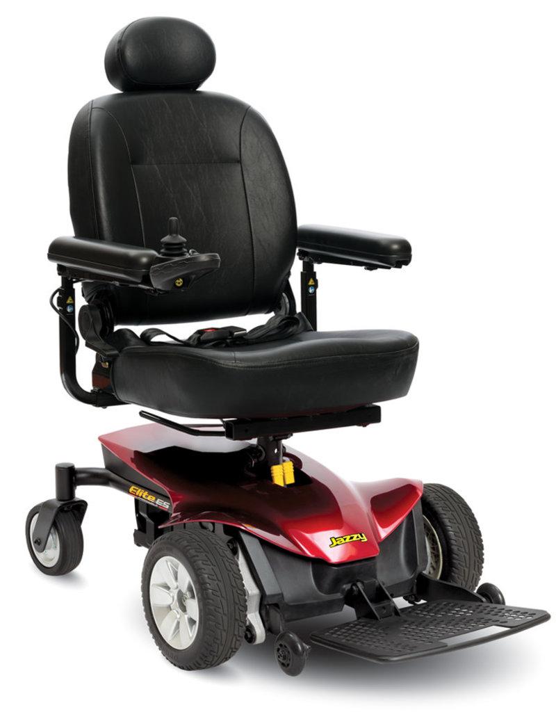 Pride Mobility Jazzy Elite ES Portable    |    FDA Class II Medical Device*