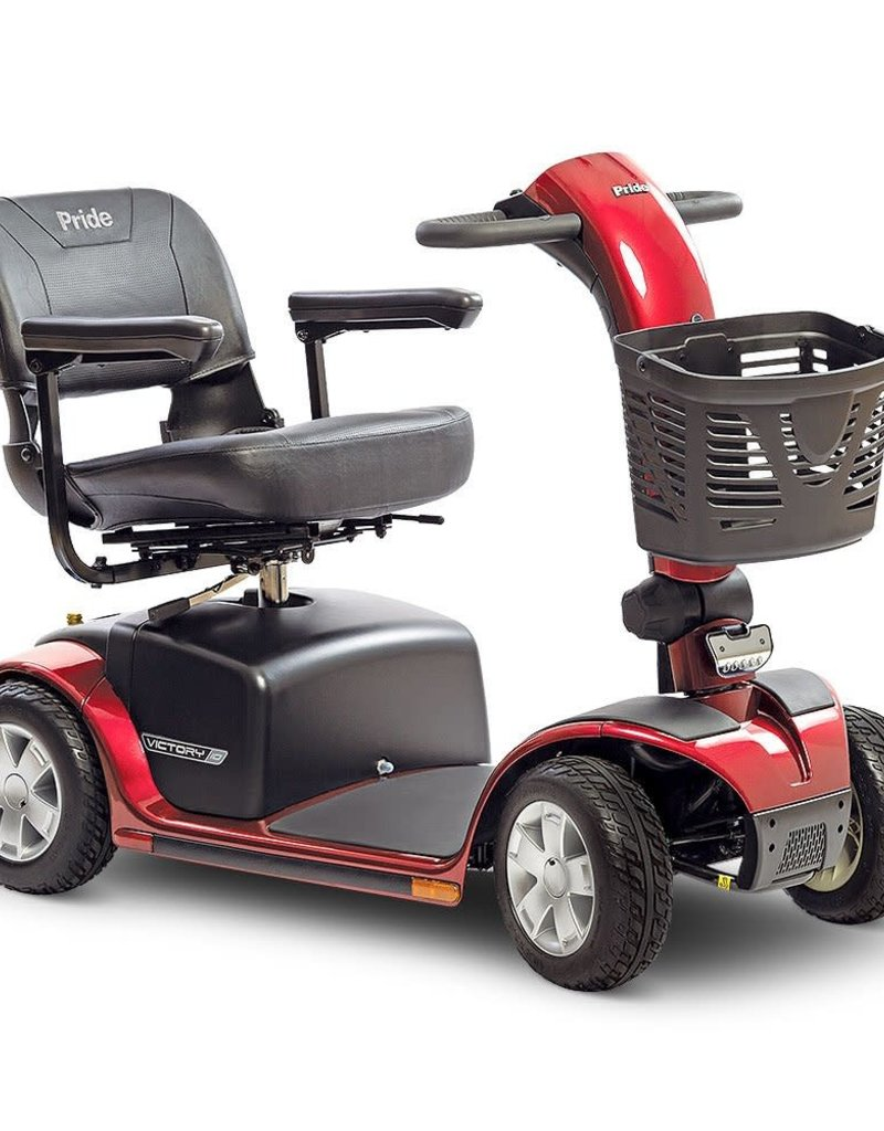 Pride Mobility Victory 10    |    FDA Class II Medical Device*