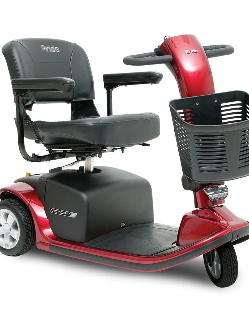 Pride Mobility Victory 9    |    FDA Class II Medical Device*