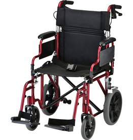 Nova Ortho-Med, INC. Nova Handbrake Desk Arms Transport Chair