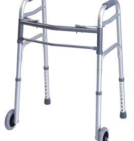 Lumex Front Wheeled Silver Walker