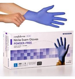 McKesson NonSterile Textured Nitrile Gloves