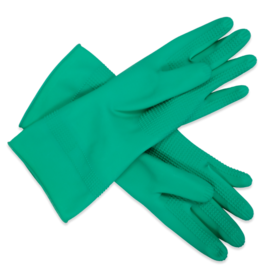 Rubber Donning Gloves