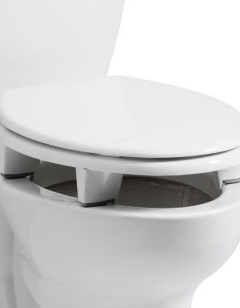 BEMIS Closed Front Elevated Toilet Seat