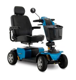 Pride Mobility Victory LX Sport Blue 4 Wheel