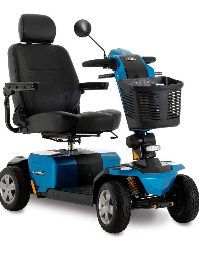 Pride Mobility Victory LX Sport Blue 4 Wheel