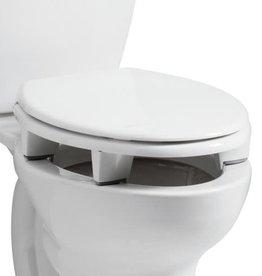 BEMIS Open Front Elevated Toilet Seat