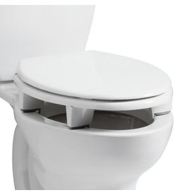 BEMIS Open Front Elevated Toilet Seat