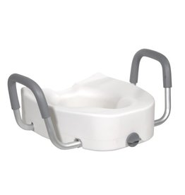 Drive/Devilbiss Elongated Toilet Seat Riser
