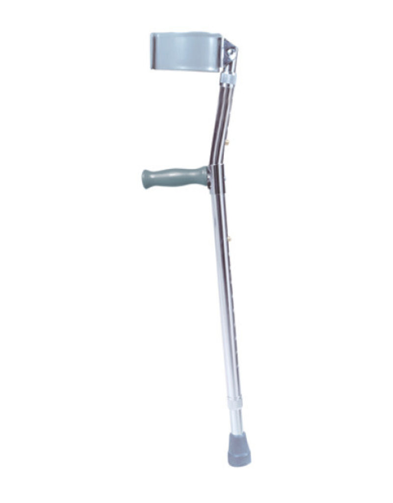Drive/Devilbiss Adjustable Steel Forearm Crutches