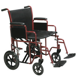 Drive/Devilbiss Bariatric Steel Transport Chair