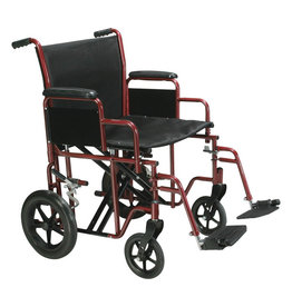 Drive/Devilbiss Bariatric Steel Transport Chair