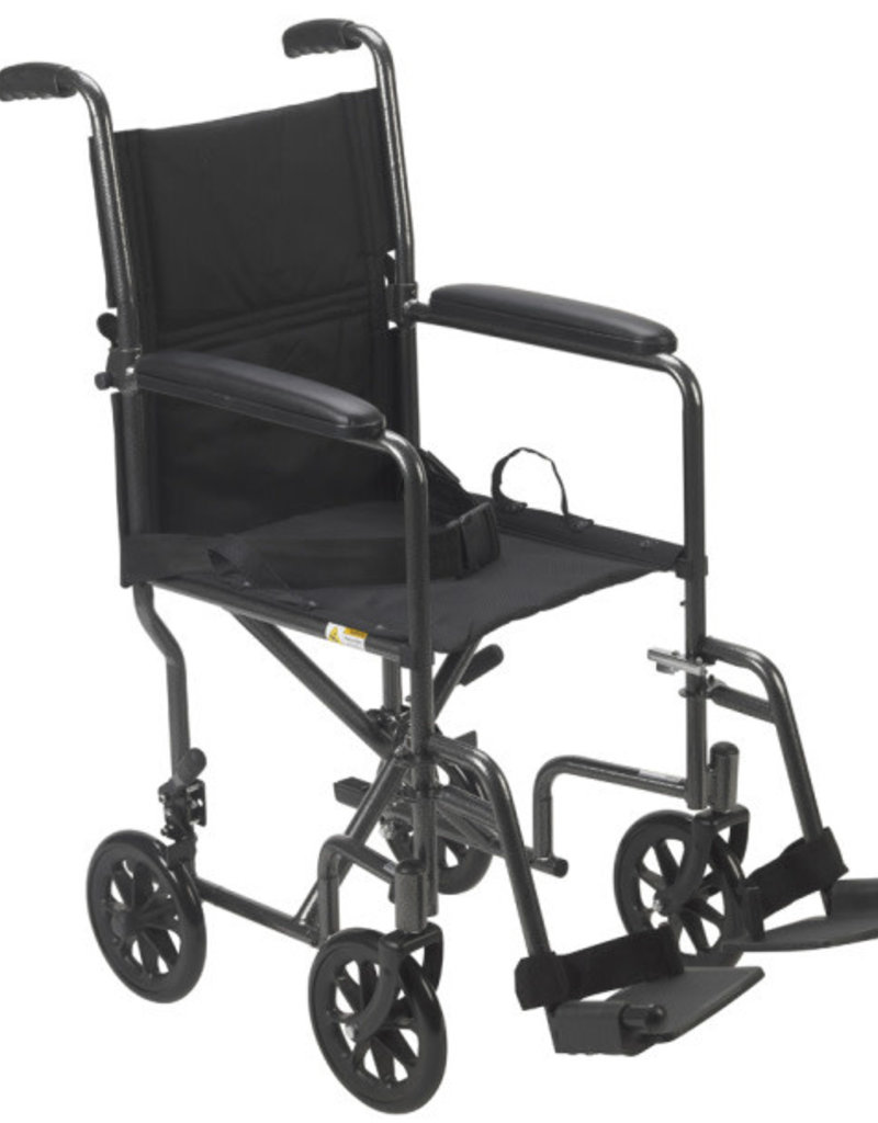 Drive/Devilbiss Steel Transport Chair