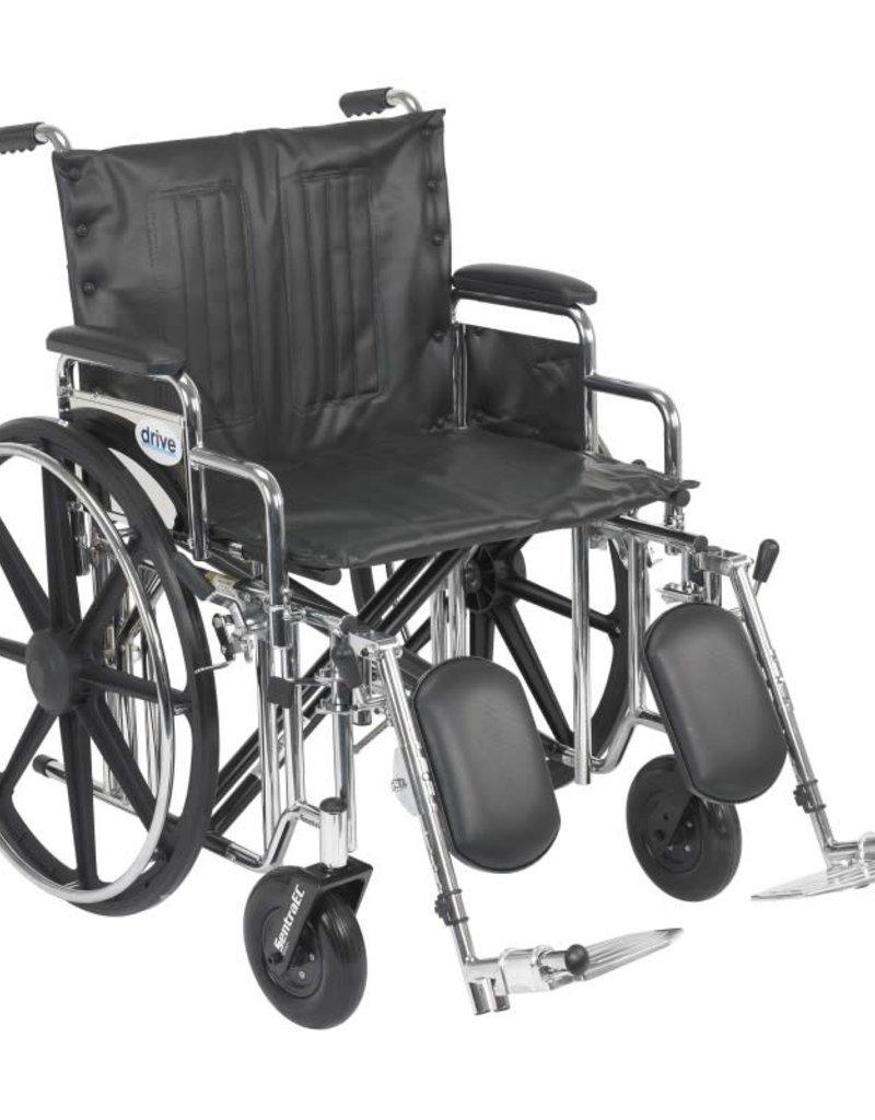 Drive/Devilbiss Sentra Extra Heavy Duty Wheelchair