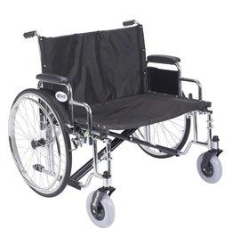 Drive/Devilbiss Sentra EC Heavy Duty Extra Wide Wheelchair