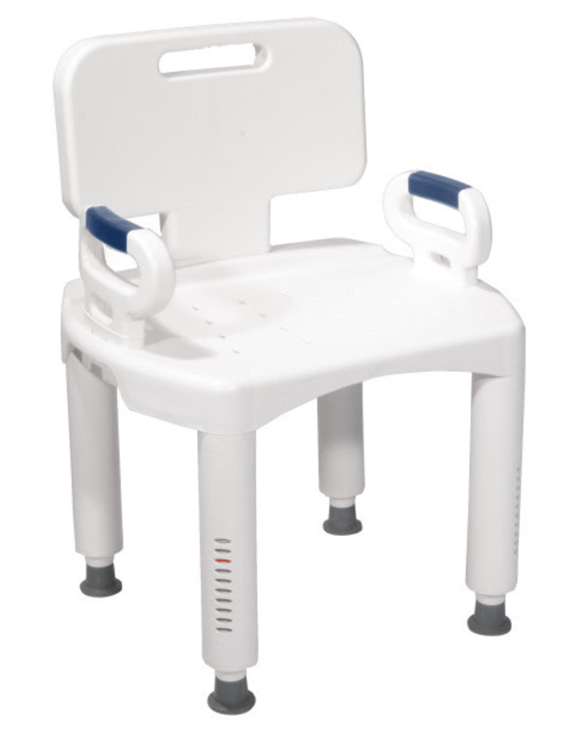 Drive/Devilbiss Drive Bath Chair Arms & Back Standard