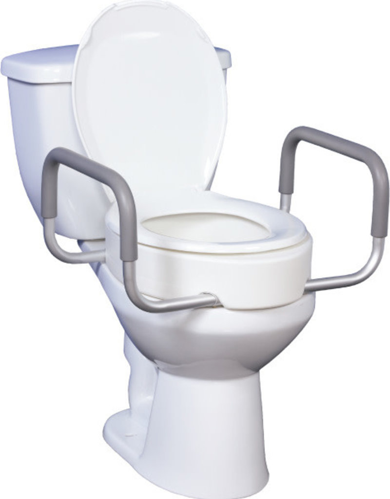 Drive Toilet Seat Riser /w Removable Arms
