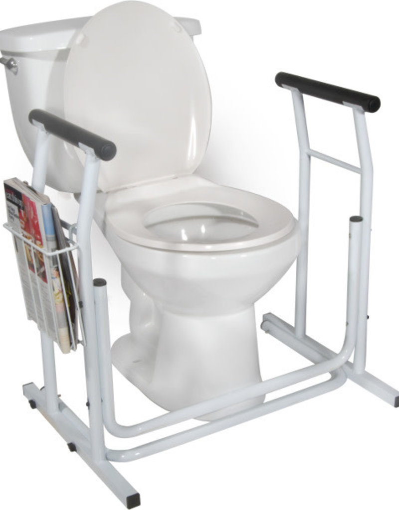 Drive/Devilbiss Free-standing Toilet Safety Rail