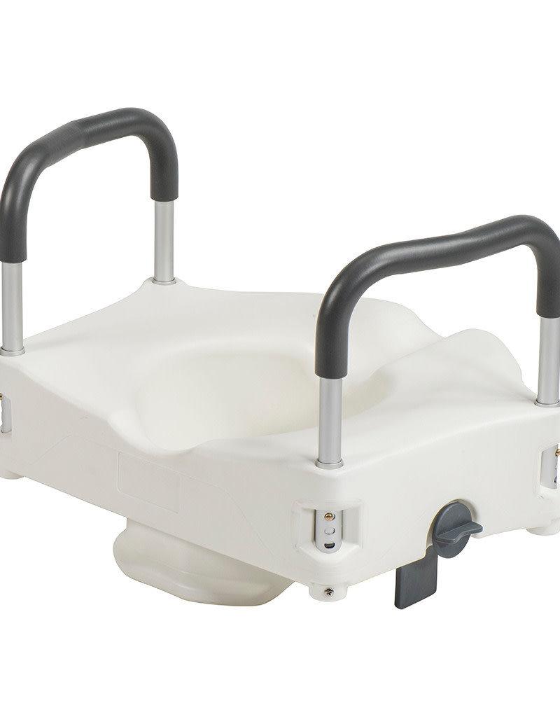 Drive/Devilbiss Secure Lock Raised Toilet Seat