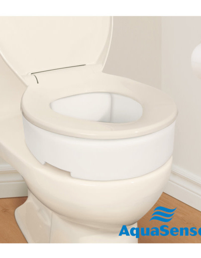 Drive/Devilbiss Toilet Seat Riser with Hinge