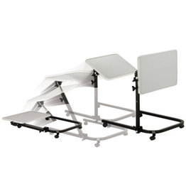Drive/Devilbiss Pivot & Tilt Overbed Table