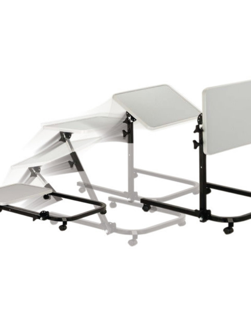 Drive/Devilbiss Pivot & Tilt Overbed Table