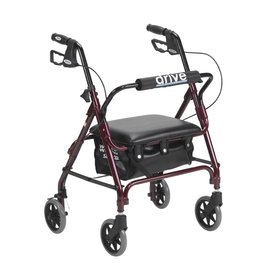 Drive/Devilbiss Junior Rollator with Padded Seat