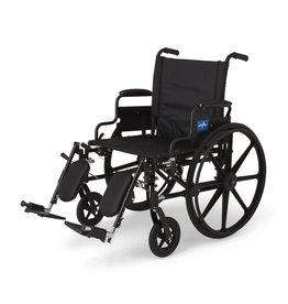 Medline Industries K4 Extra-Wide Lightweight Wheelchair