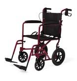 "Medline Industries Basic Aluminum Transport Chair 12"""