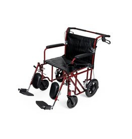 Medline Industries Freedom Plus Lightweight Bariatric Transport Chair