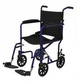 "Medline Industries Basic Aluminum Transport Chair 8"""